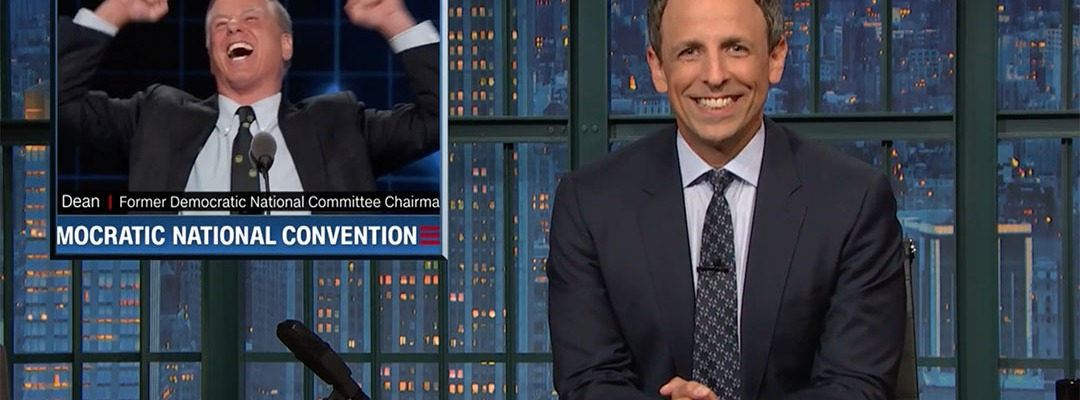 democratic national convention seth meyers