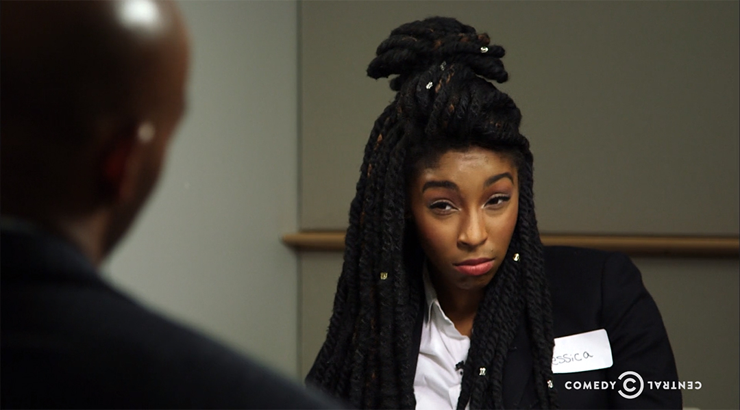 jessica williams bernie trump