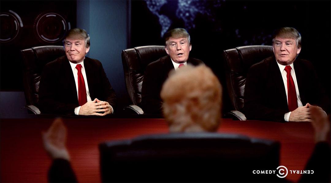 trump cabinet trumps daily show