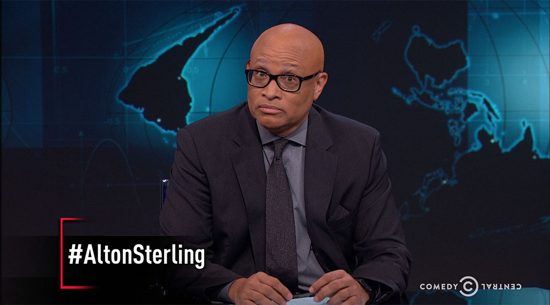alton sterling larry wilmore