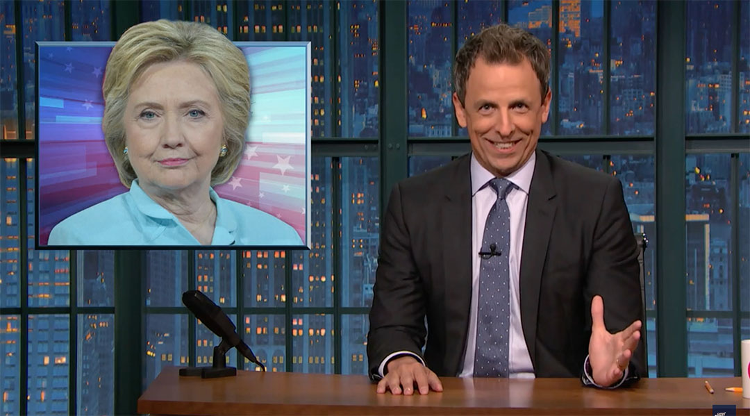seth meyers hillary clinton email server