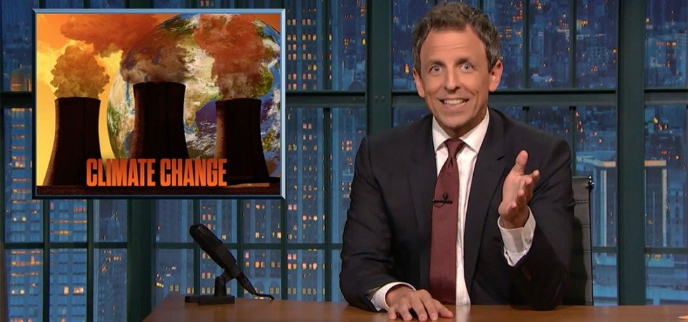 seth meyers climate change
