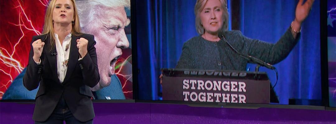 samantha bee trump clinton election 2016