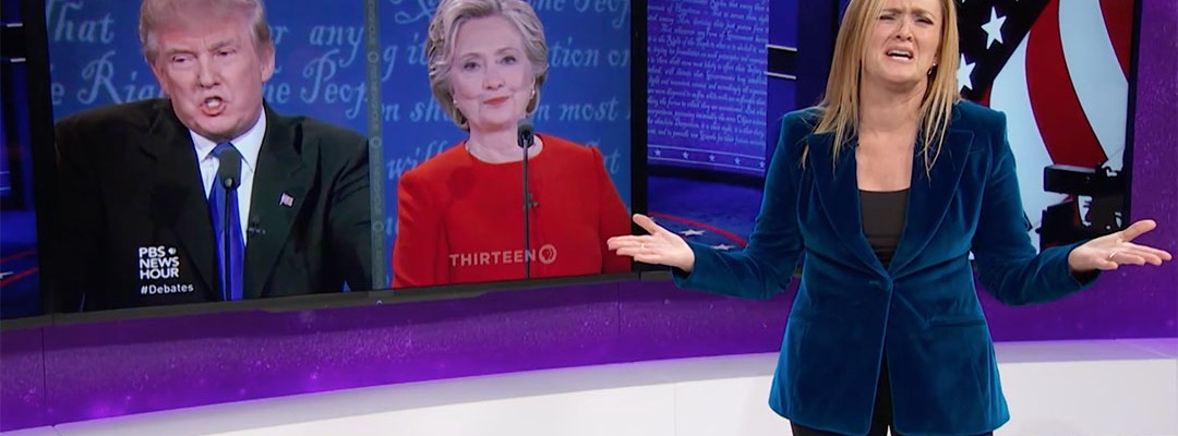 samantha bee debate trump clinton