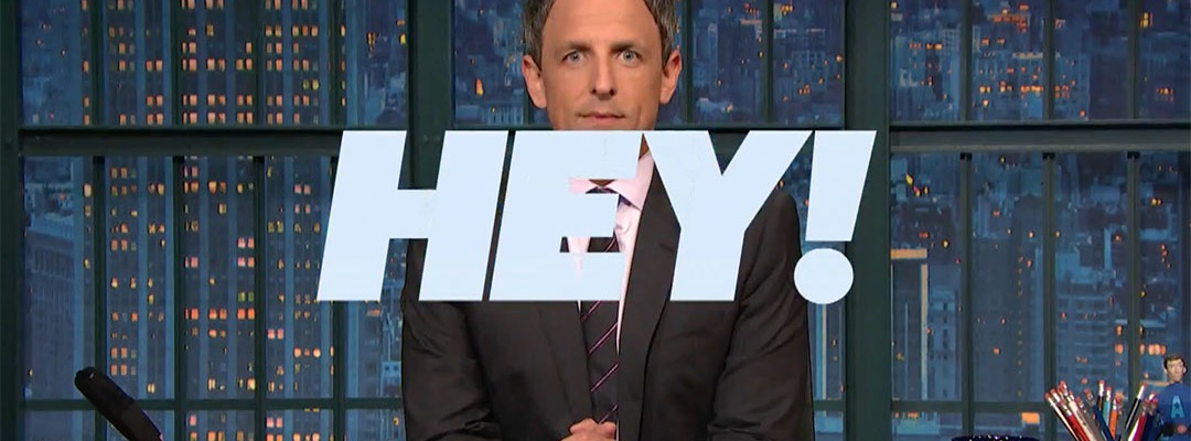 hey! hillary clinton basket of deplorables seth meyers