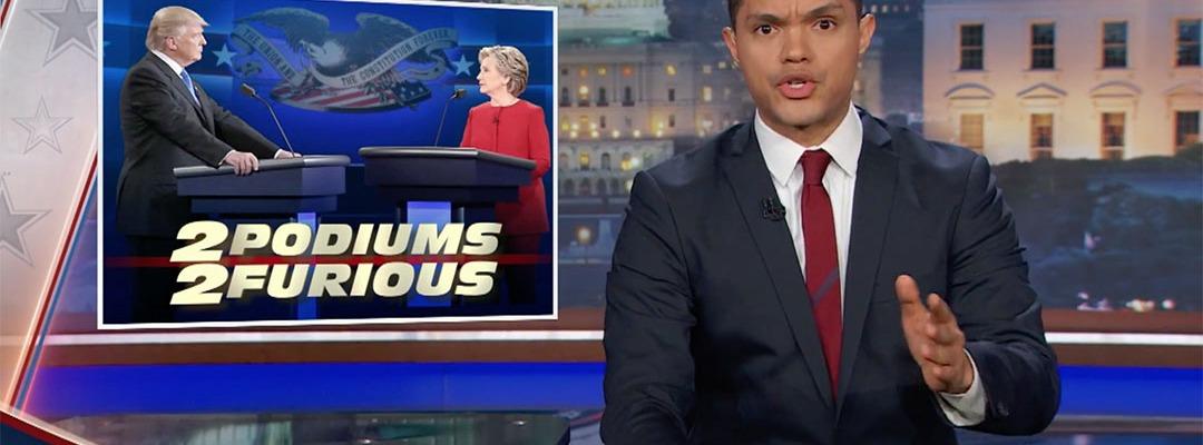 trevor noah debate election 2016