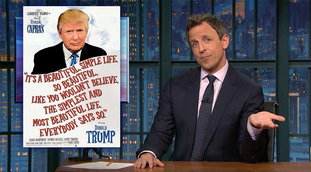 trump campaign brand seth meyers