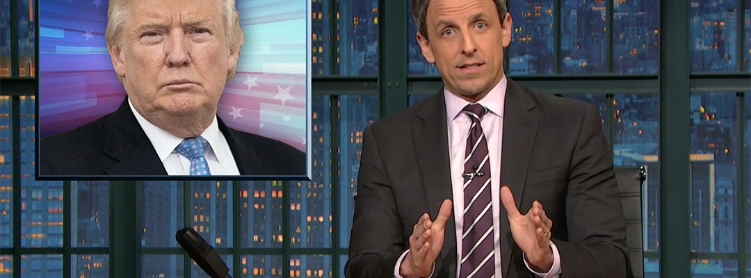 donald trump foreign policy seth meyers