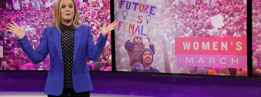 women's march samantha bee