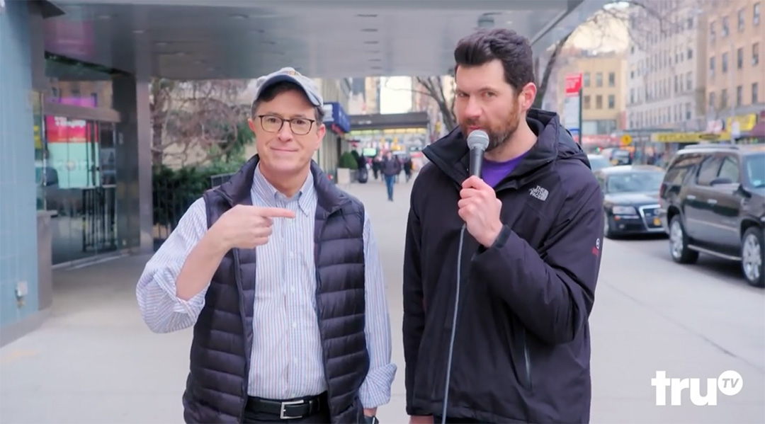 billy eichner Stephen Colbert new York bubble