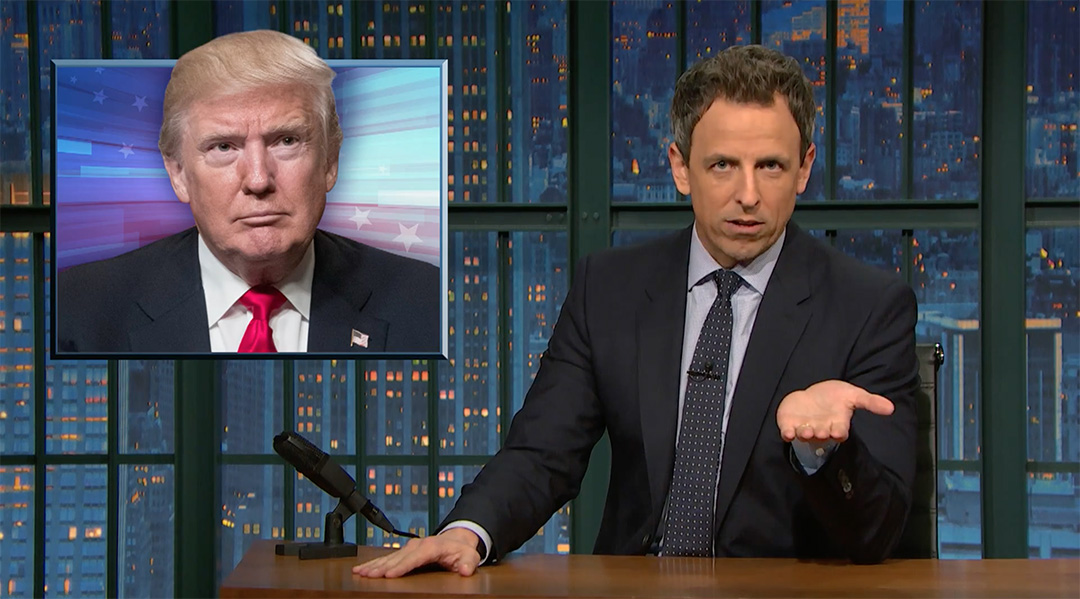 seth meyers trump alternative facts