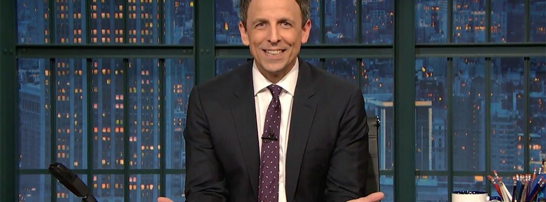 seth meyers hey voter fraud donald trump