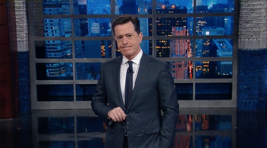 colbert sweden attack late show