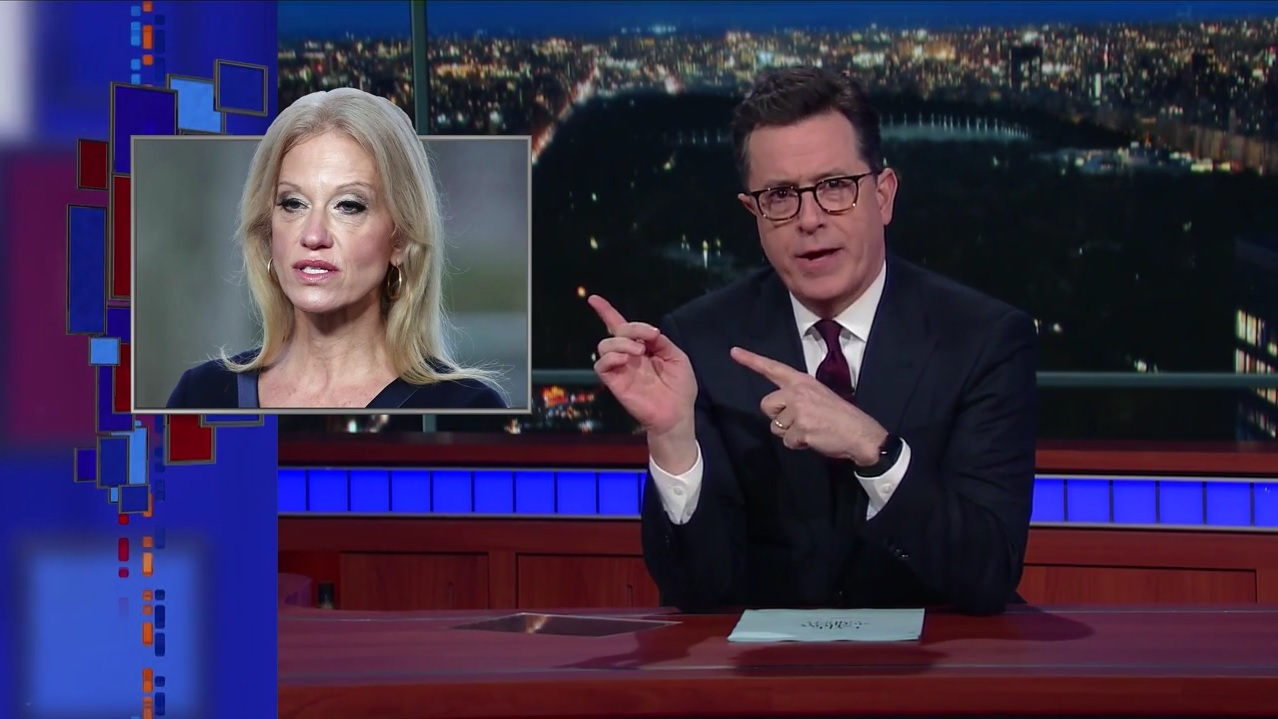 colbert late show bowling green massacre