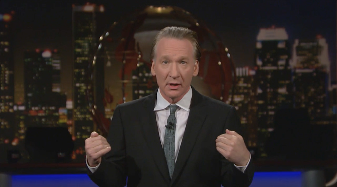 bill maher donald trump second week