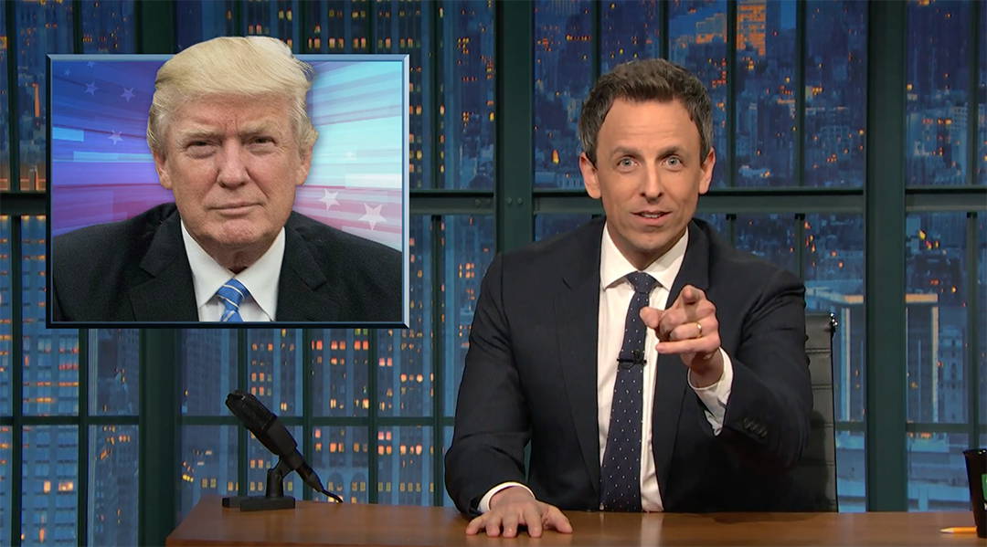 press conference trump seth meyers