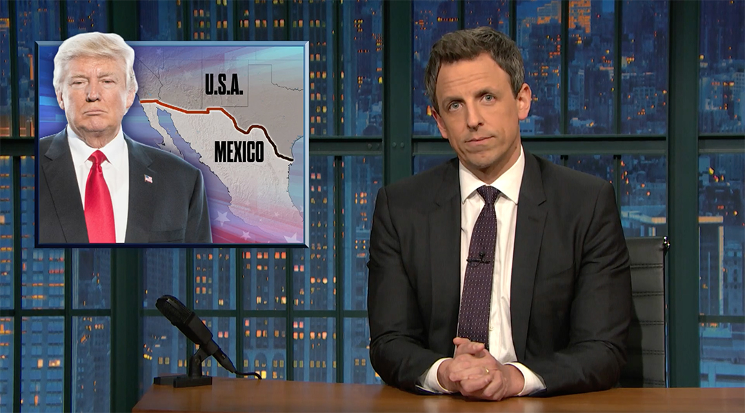 seth meyers immigration trump