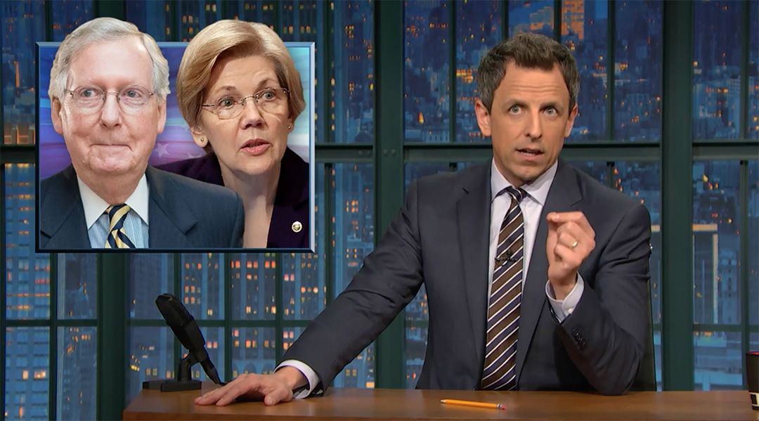 seth meyers trump democrats