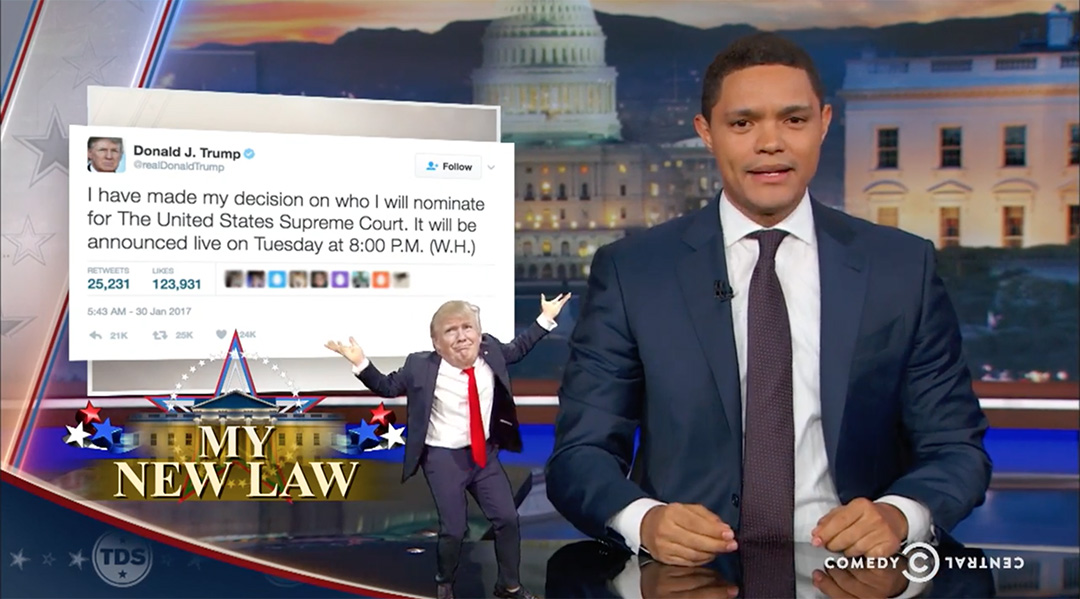trevor noah supreme court trump