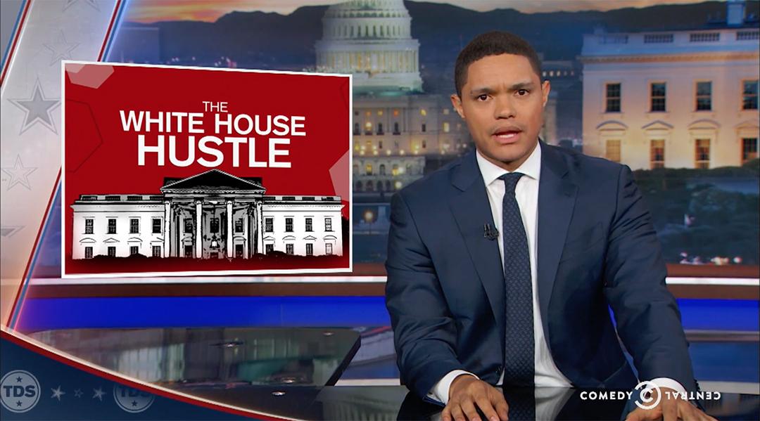 trevor noah white house trump airbnb