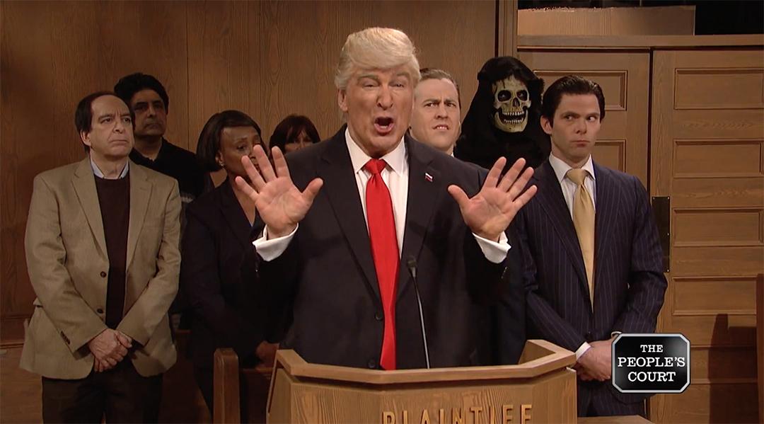 snl alec baldwin donald trump people's court