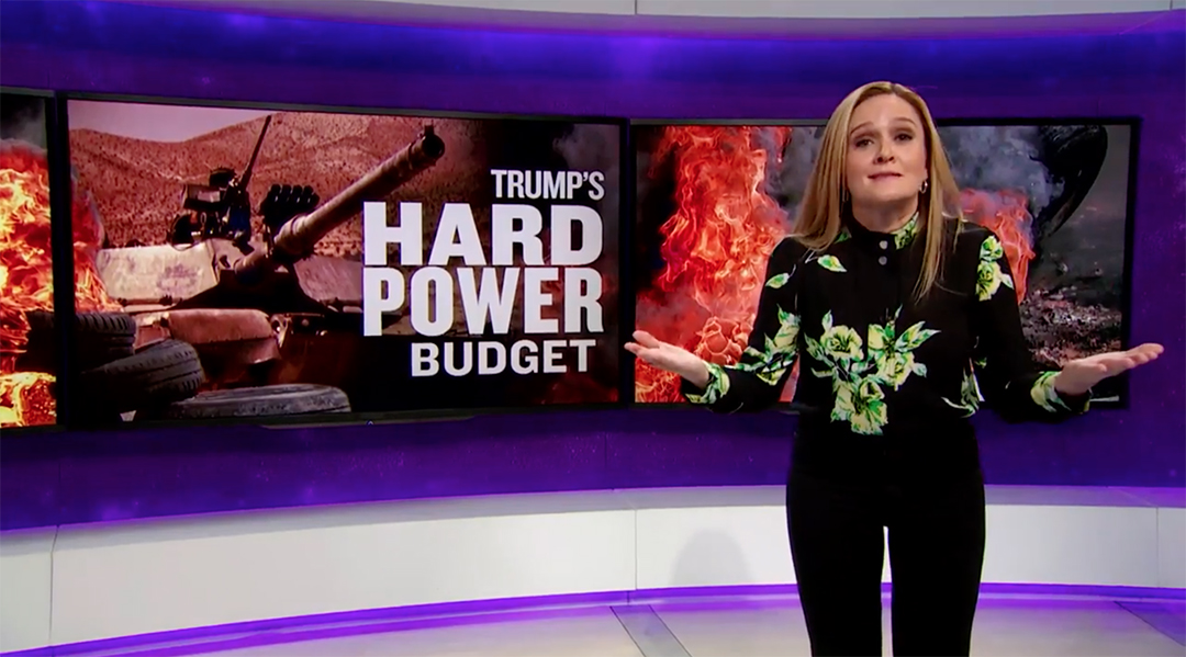 samantha bee trump budget