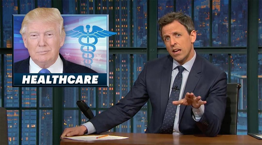seth meyers trumpcare trump healthcare