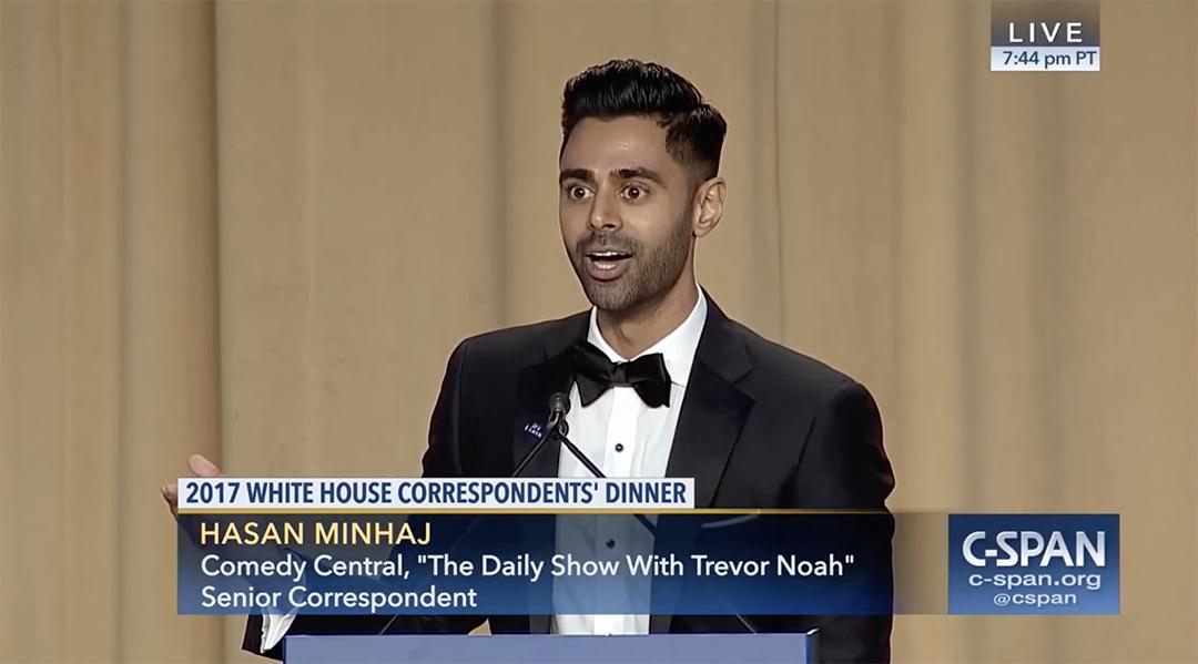hasan minaj white house correspondents dinner whcd