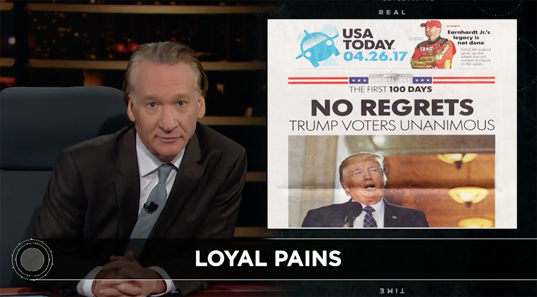 maher real time trump voters