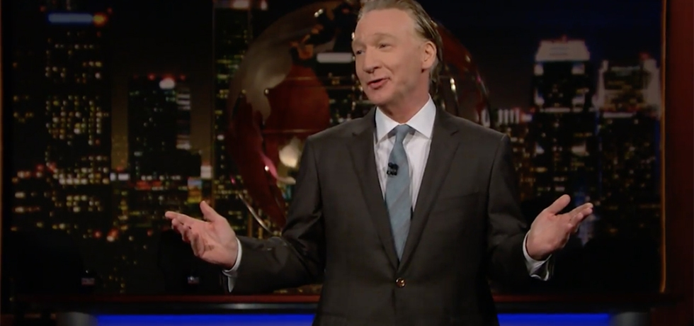 bill maher real time donald trump 100 days