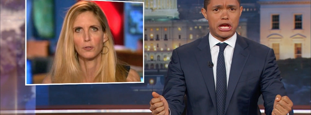 trevor noah ann coulter berkeley