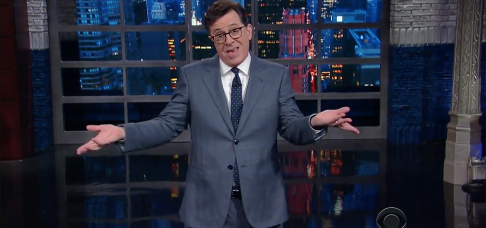 colbert late show health care trumpcare