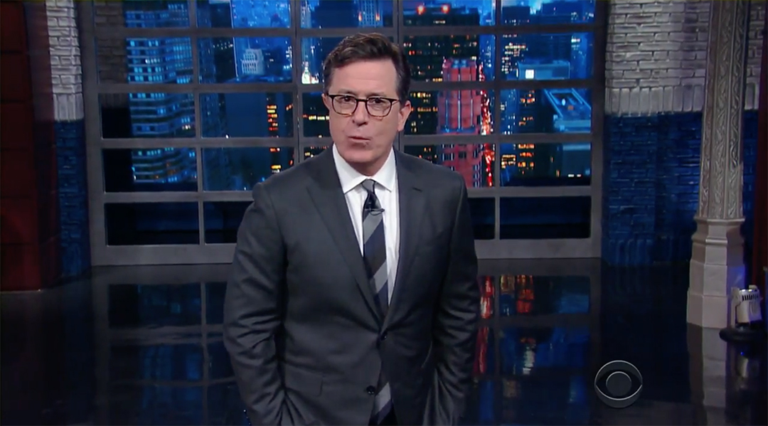 stephen colbert trump james comey