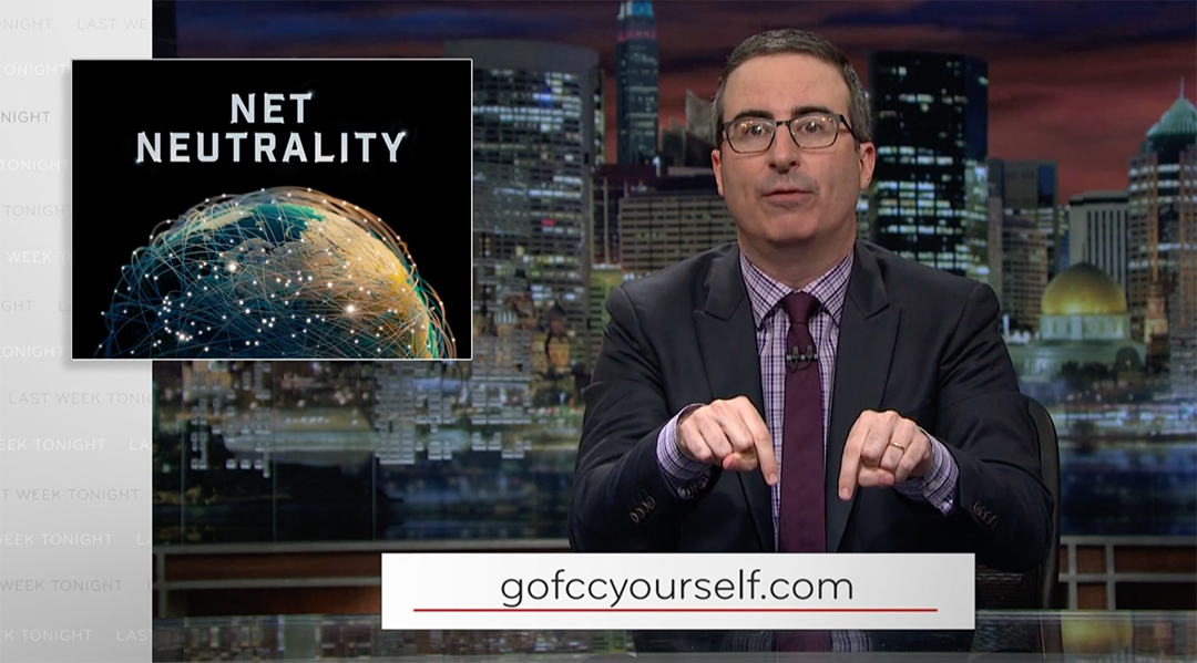 john oliver last week tonight net neutrality FCC