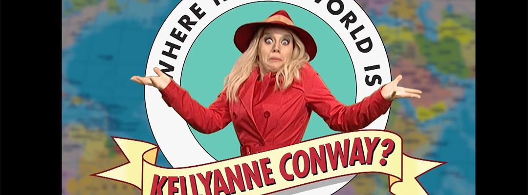 kellyanne conway snl where in the world
