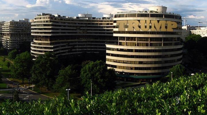 trump organization watergate hotel