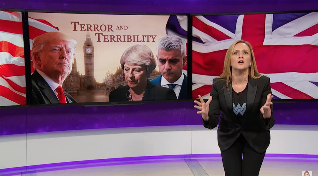 sadiq khan samantha bee full frontal donald trump