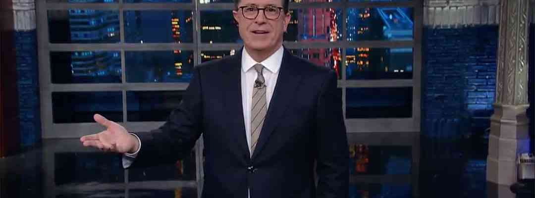 stephen colbert obstruction of justice robert mueller trump