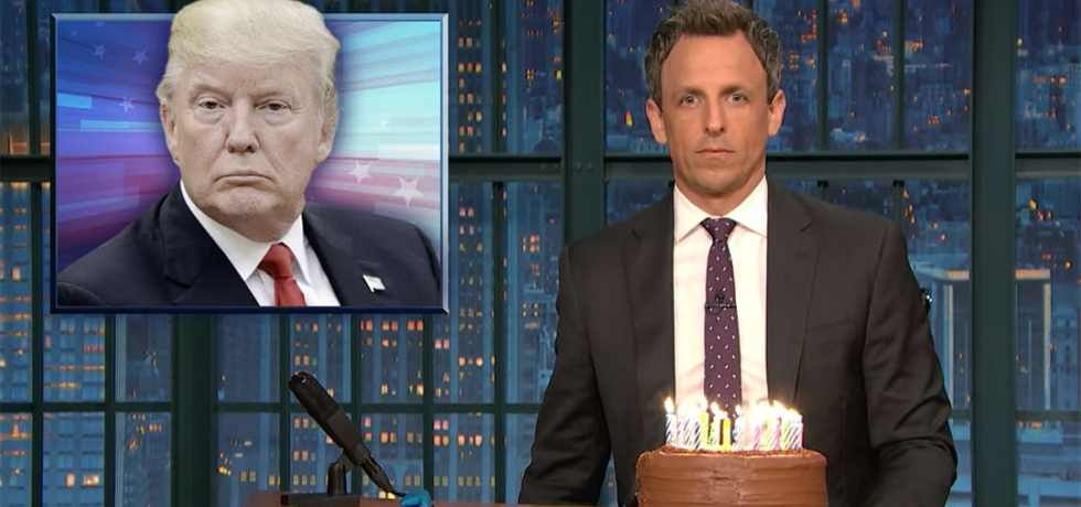 donald trump obstruction of justice seth meyers