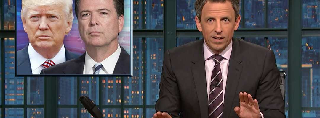 james comey donald trump seth meyers late night