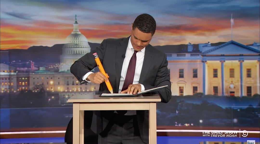 trevor noah executive order donald trump