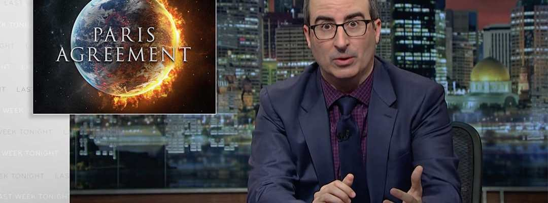 john oliver donald trump paris agreement