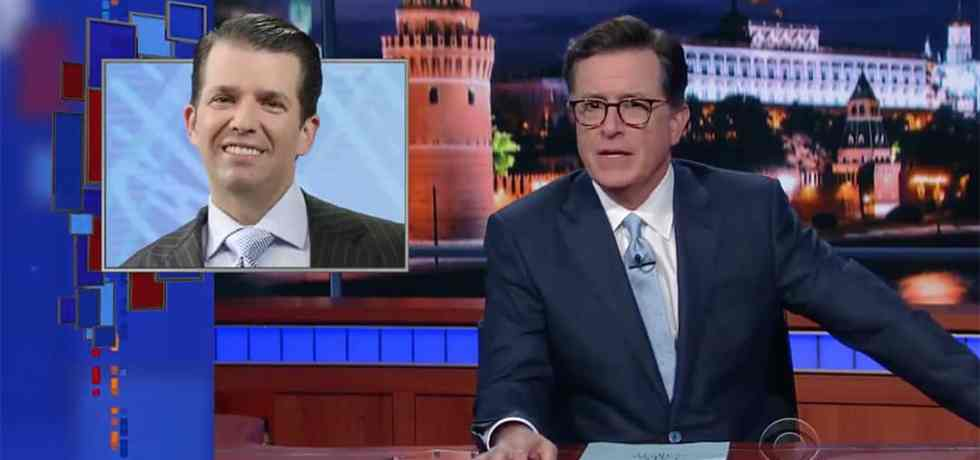 stephen colbert russia week trump