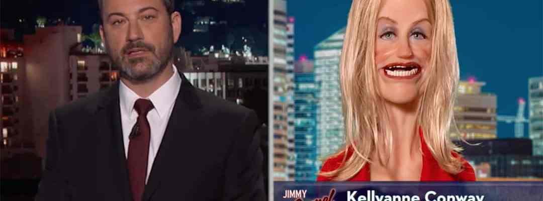 jimmy kimmel live kellyanne conway donald trump jr russia
