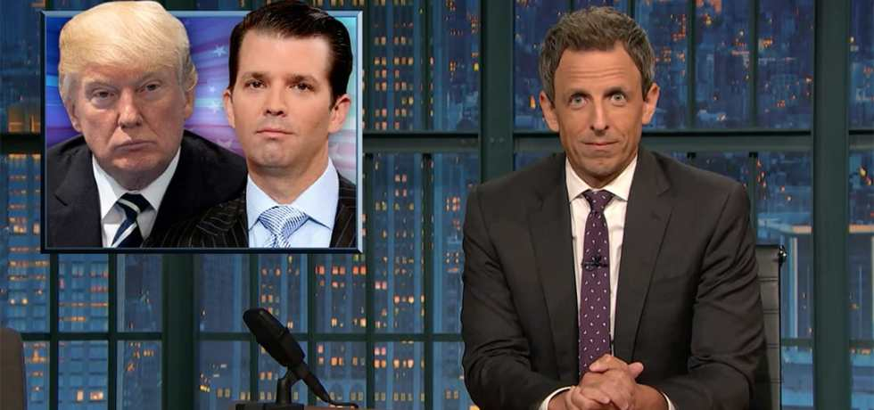seth meyers russia donald trump jr