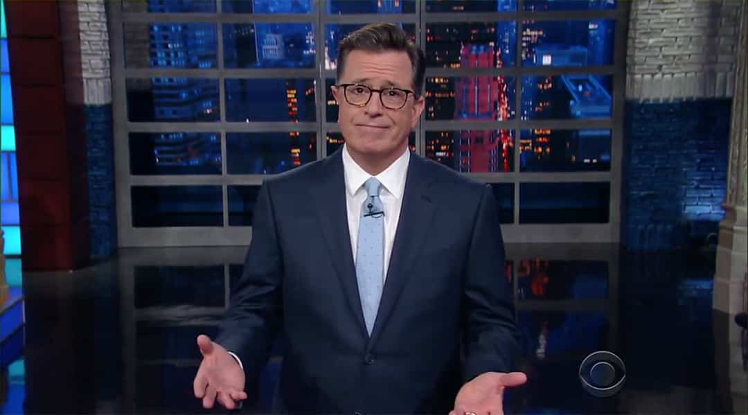 colbert john kelly anthony scaramucci