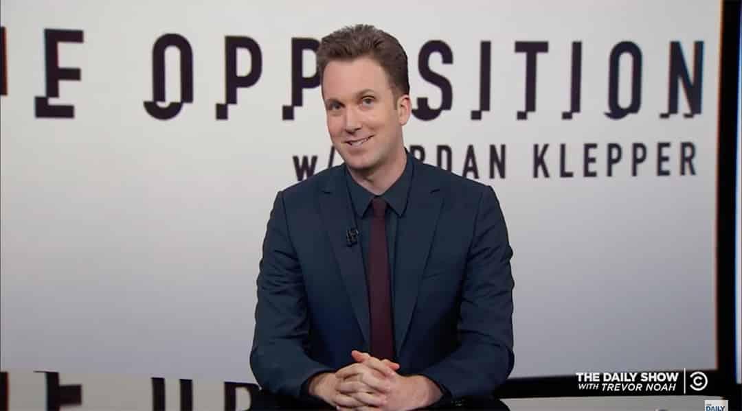klepper opposition daily show comedy central alex jones