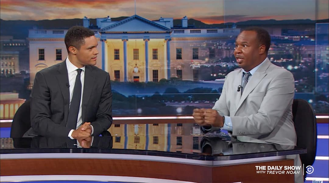 roy wood jr daily show trump white supremacists