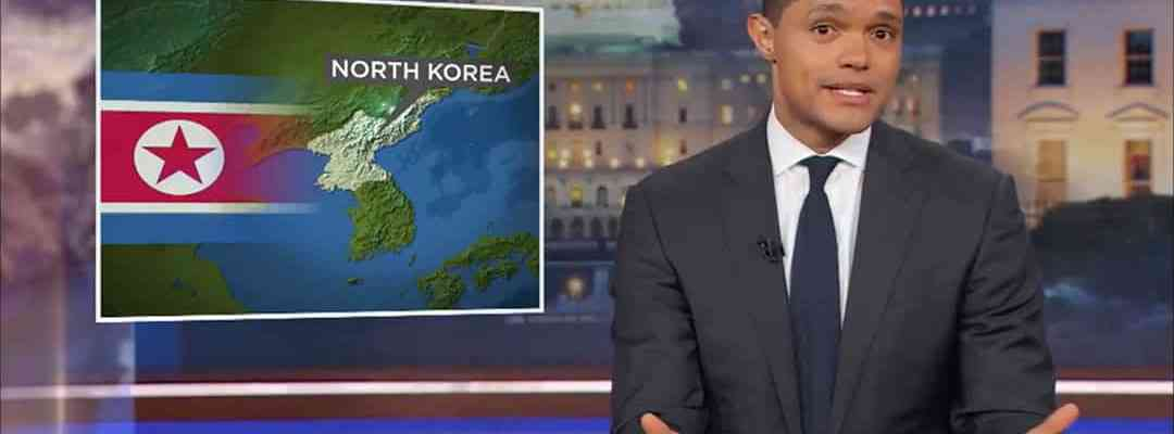 trevor noah north korea trump