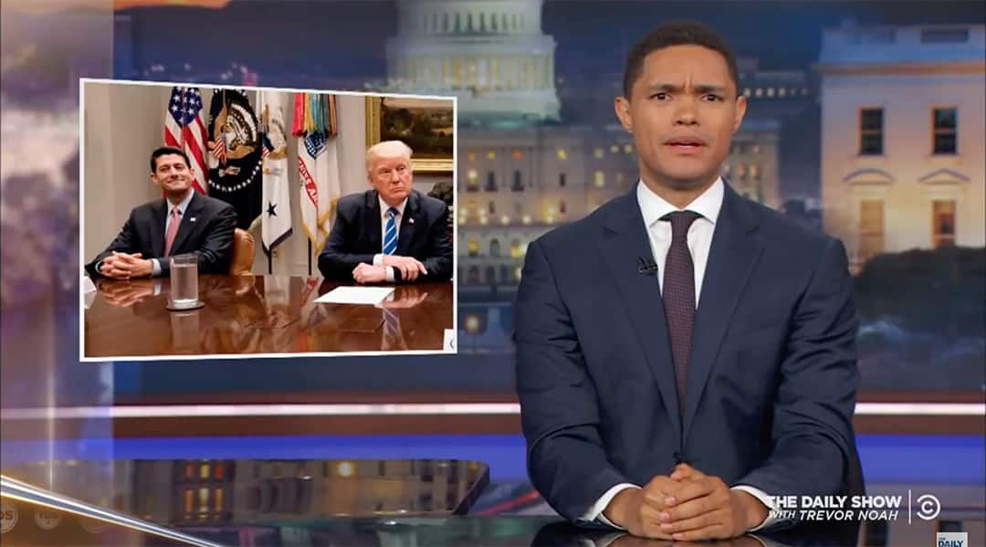 trevor noah trump deal democrats